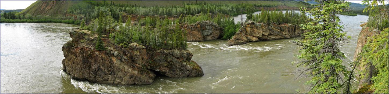 Five-Finger Rapids, Yukon River