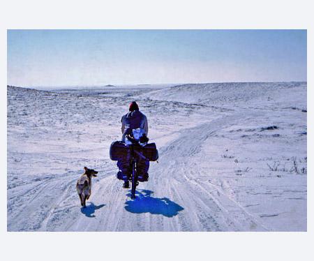 Trail to Husky Lakes, Northwest Territories