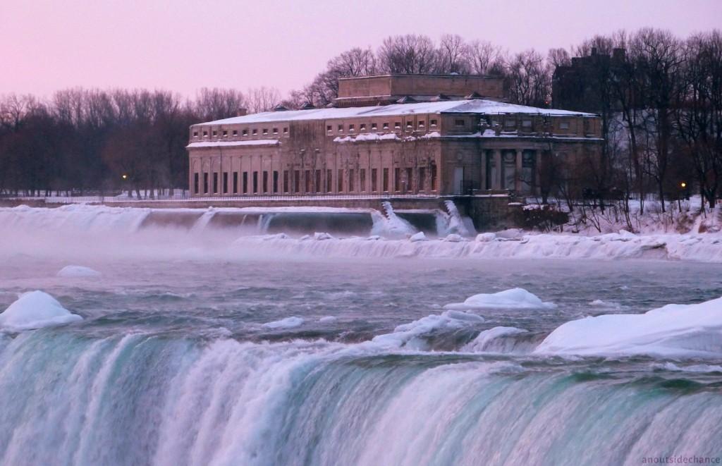 Generating station near Niagara Falls